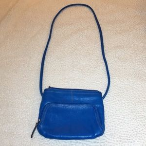 Tignanello blue purse